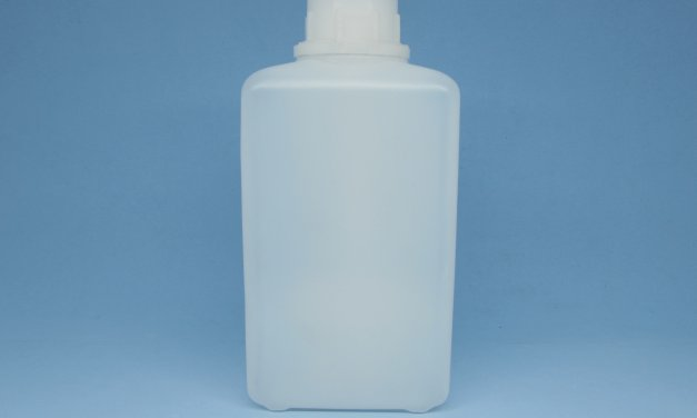Frasco de Polietileno Retangular 1 litro