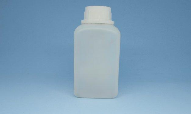 Frasco de Polietileno Retangular 500 ml