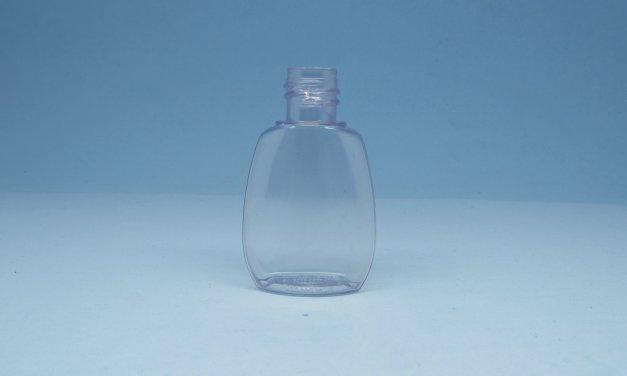 Frasco Oval PVC 30 ml