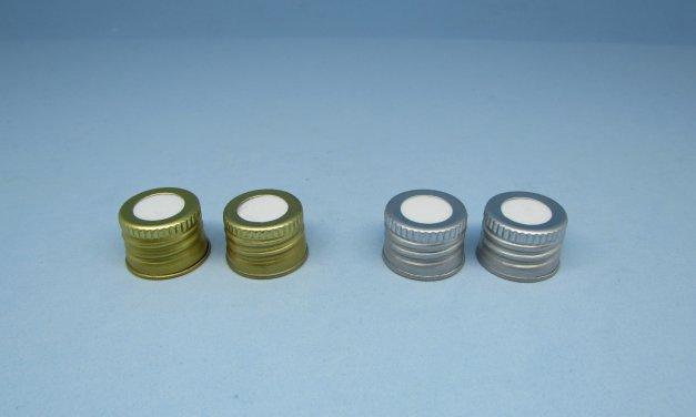 Tampa Alumínio com furo – rosca 20 mm