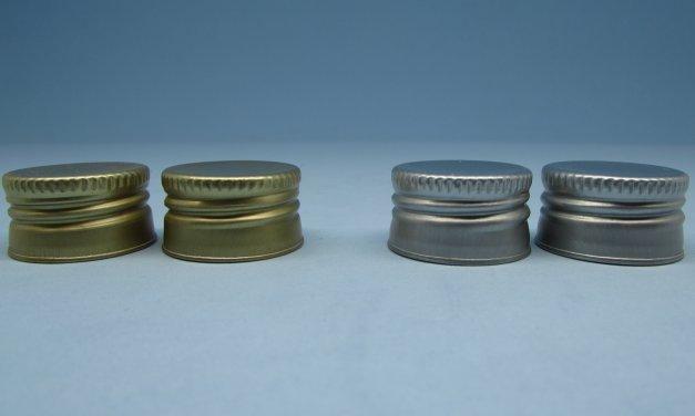Tampa de Alumínio rosca 24 mm