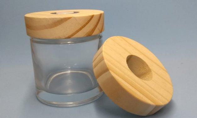 sobretampa de madeira para difusor redonda